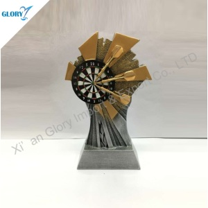 Quality Resin Darts Awards and Trophies for Souvenir