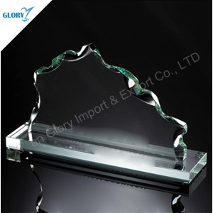 Custom Engraved Awards Art Glass Trophies for Souvenir
