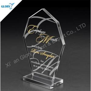 Wholesale Custom Classic Crystal Trophy with Base
