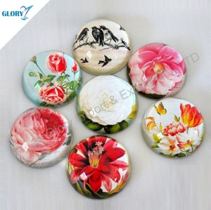 Wholesale Personalised Engraved Round Crystal Paperweight Gifts