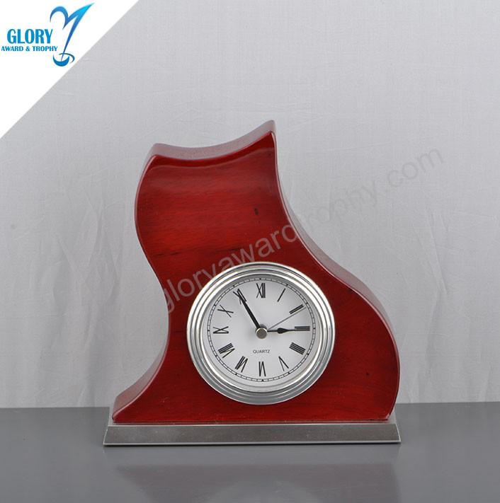 Antique Gift Wooden Desk Clock for Sale