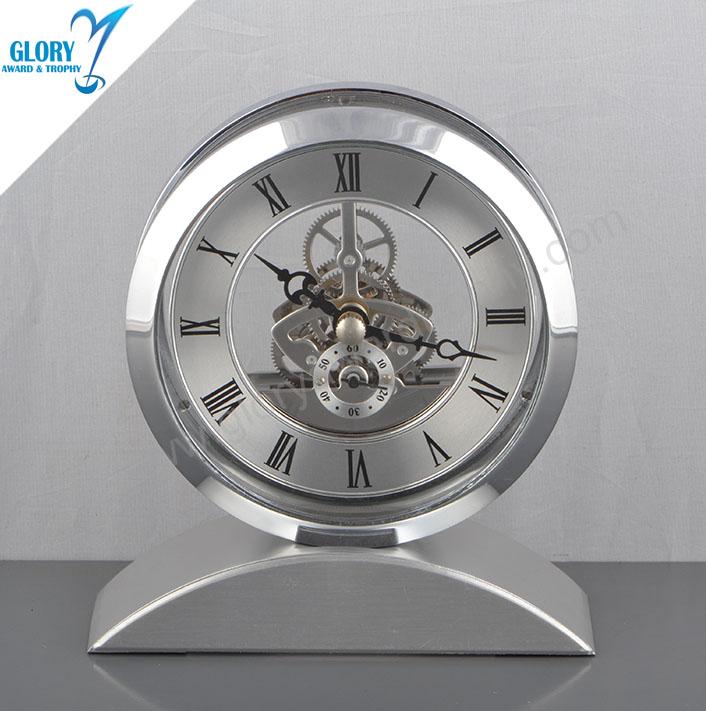 Customized Fancy Desk Clock for Desktop Gift