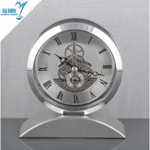 Customized Fancy Desk Clock for Desktop Gift