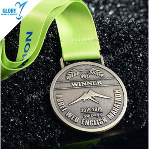 Custom Bulk Engraved Blank Metal Medal for Awards Souvenir