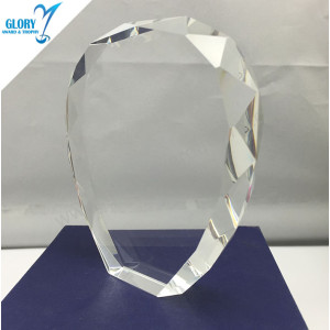 Custom Design Blank Trophies Crystal Awards for Souvenir