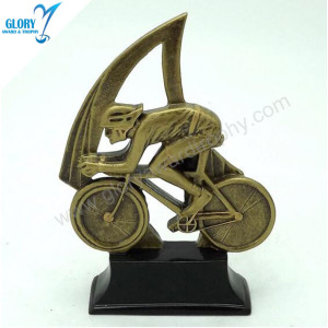 Factory Bike Bicycle All Sports Resin Sculpture Awards