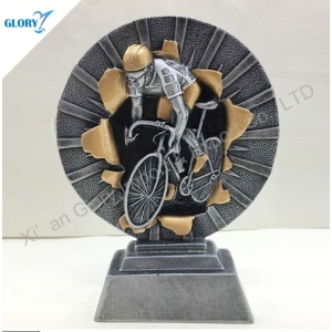 All Sport Resin Bicycle Bike Trophy for Souveinr