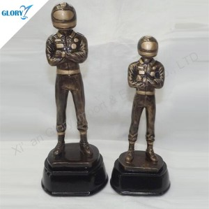 Resin All Sports Best Motorcycle Racer Trophy