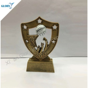 High Quality Award Souvenirs Resin Netball Trophies