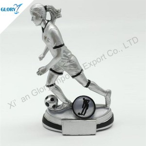 Wholesaler Resin Soccer Trophies in China