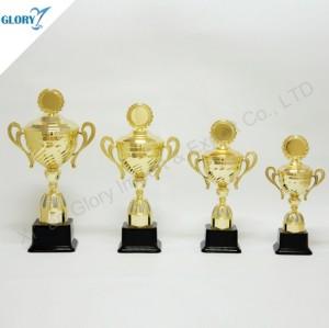 Good Quality Plastic Sports Trophies Cup for Souvenir