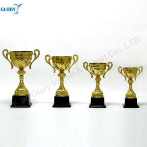 New Designs Big Golden Trophy Cup Parts