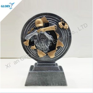 New High Quality Resin Shooting Sniper Trophy for Souvenir