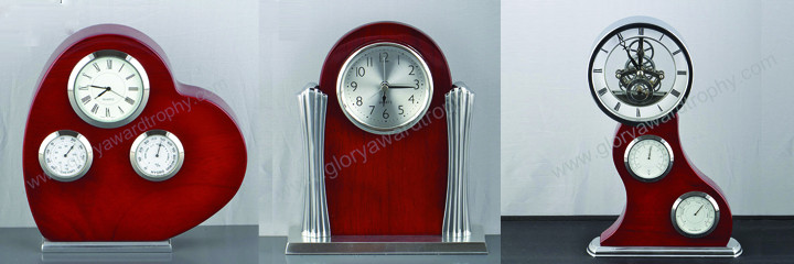 Wooden clock - Glory Award & Trophy