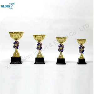 Wholesale Plastic Gold Award Sports Trophy Cup