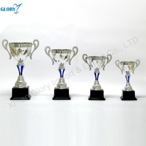 High Quality New Design Silver Trophy Cup for Souvenir