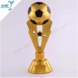 Fantasy Soccer Resin Football Trophies for Souvenir