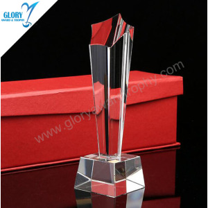 New Design Blank Business Crystal Award for Souvenir