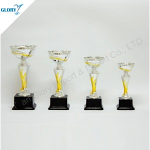 Quality Plastic Silver Trophy Cup for Souvenir