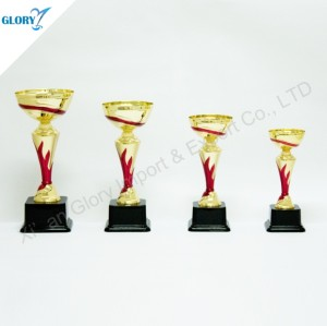 Red Flame Plastic Awards Trophies for Souvenir