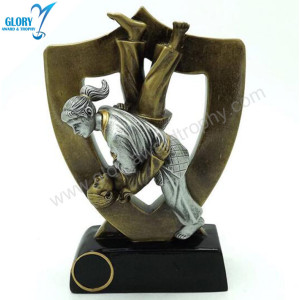 Wholesale Sports Resin Figure Wrestling Trophies