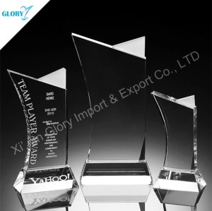 Company Recognition Award Employee Trophies for Souvenir