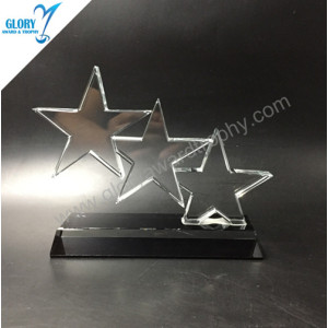 New China star crystal Award trophy 2018