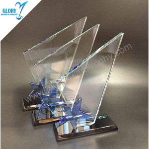 2018 China star glass trophy award supplier