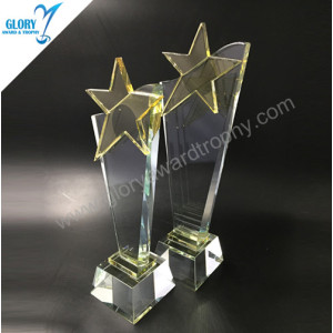 2018 New Star crystal and glass trophies awards