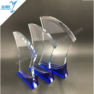 Wholesale cheap glass and crystal awards trophies 2018