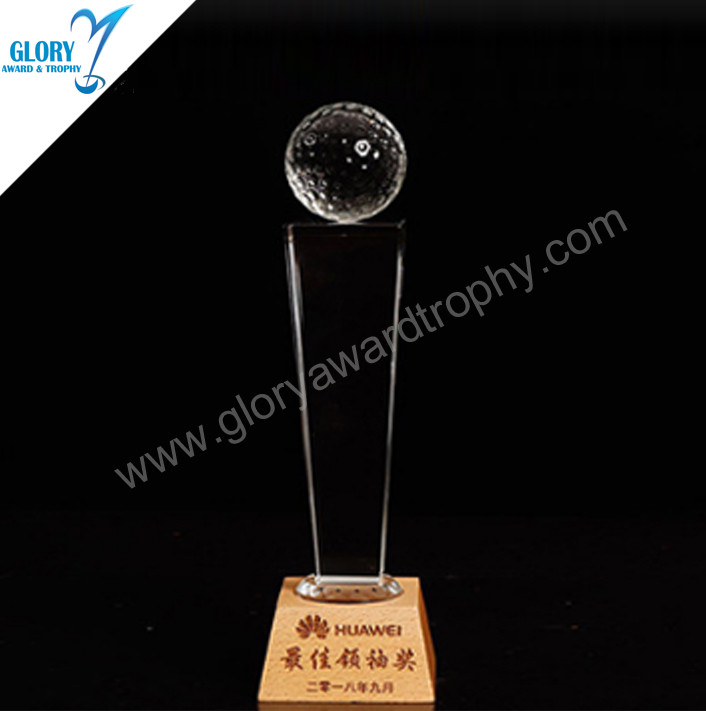 first-rate quality  crystal ball trophy  gift