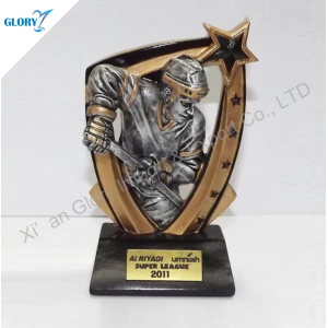 wholesale resin ice hockey trophy for sports china