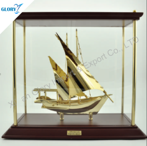 Colorful Metal Souvenir Model Ships