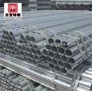 Galvanizado por inmersión en caliente de tubos de acero para poste de la cerca