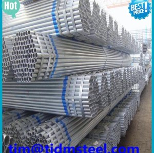300 mm diámetro de tubería de acero galvanizado