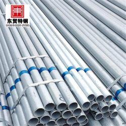 Astm a123 50 mm tubo de aço galvanizado