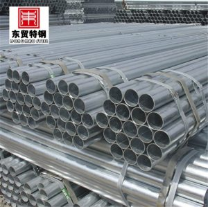 large diameter galvanized welded steel pipes