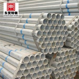 Laminados a frio galvanising tubo de aço