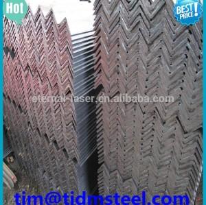 Estructural suave de hierro ángulo de acero