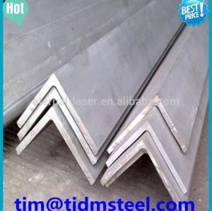 Estructural suave de carbono de acero ángulo