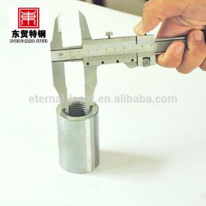 Mecánico de barras de refuerzo de empalme acopladores