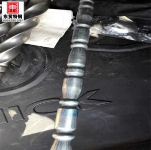 Tubo ondulado de acero inoxidable para balaustrada