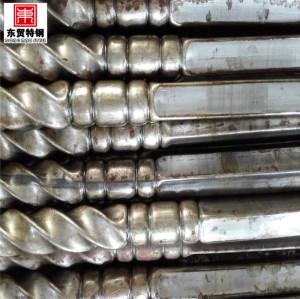 Soldados de aço inoxidável em relevo constructual tubo de