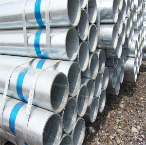 32mm 50mm galvanized steel pipe tube