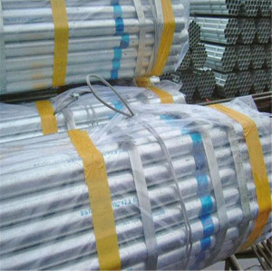 thin wall a106 gr.b galvanized carbon steel pipe