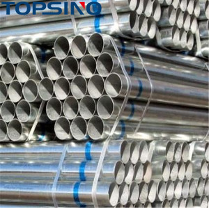 galvanized iron scaffolding pipe