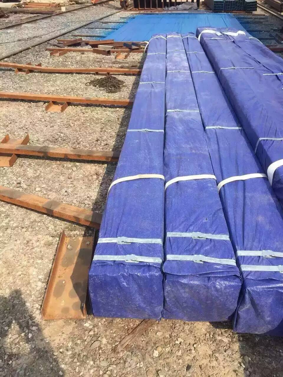 square steel pipe packing