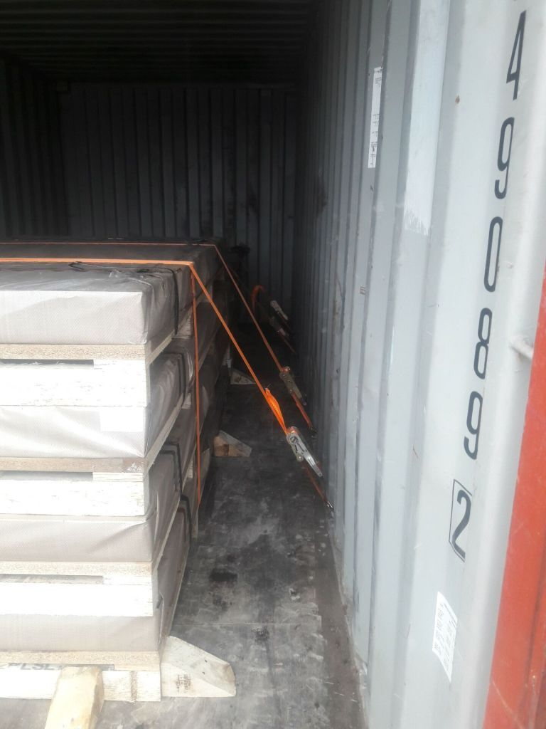steel plate with Firmly fixed