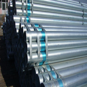 a572 galvanized seamless steel pipe