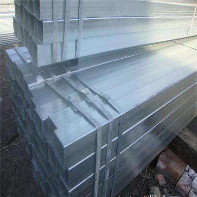 a36 galvanized square shape steel pipe